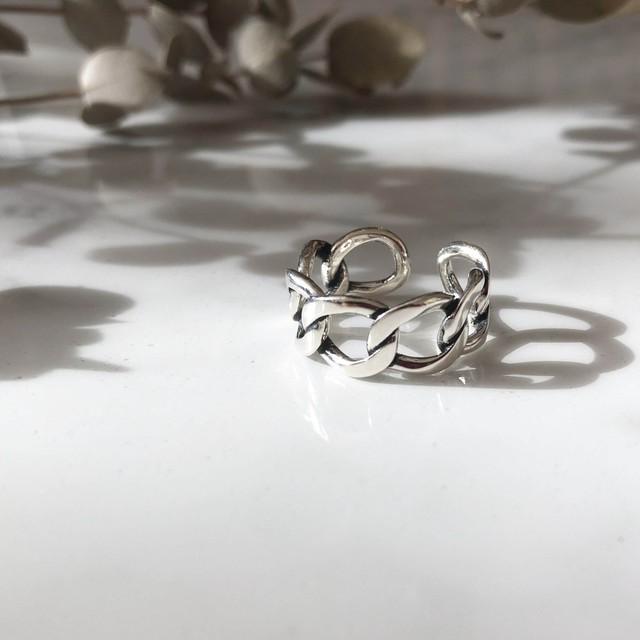 ◆即納◆ Silver925 Hoop Ring AR-S-3