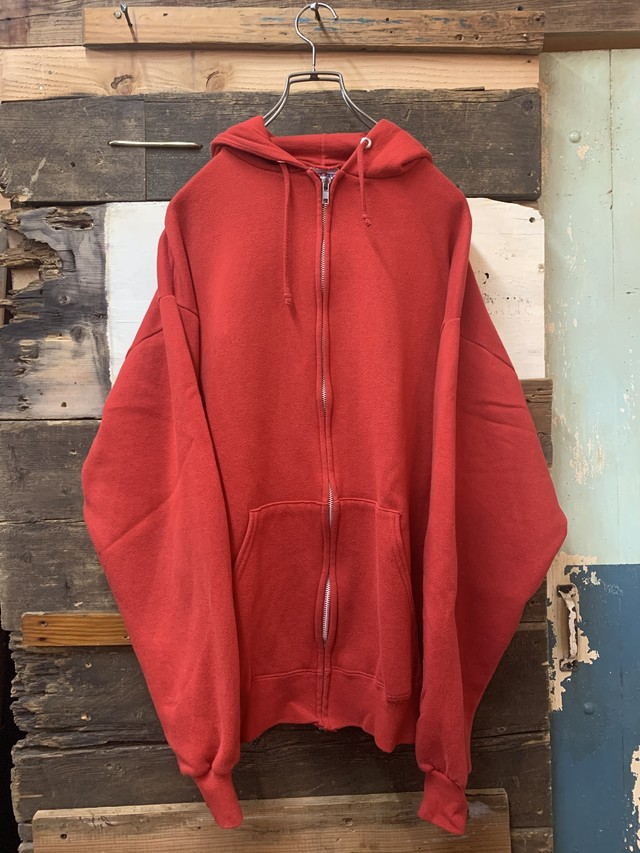 90's jerzees full zip sweat parka