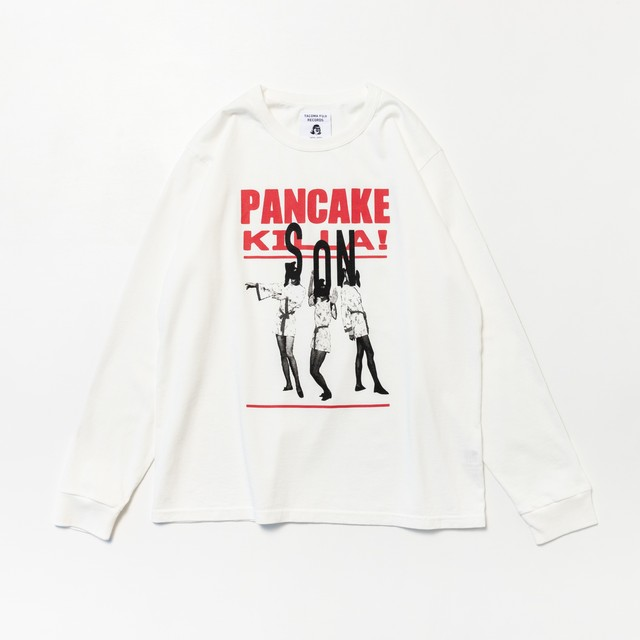 TACOMA FUJI RECORDS PANCAKE KILLAS / SON designed by Ryohei Kazumi / text by Takaaki Akashi WHITE L/S