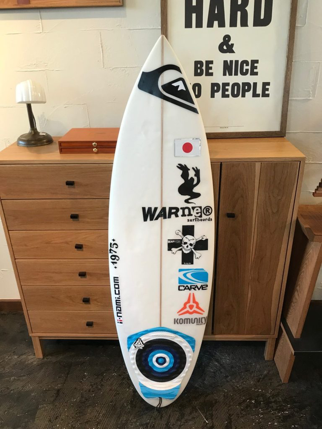 "USEDBOARD TNT MODEL 4'8"" 伊東リアル中古 // WARNER SURFBOARDS"