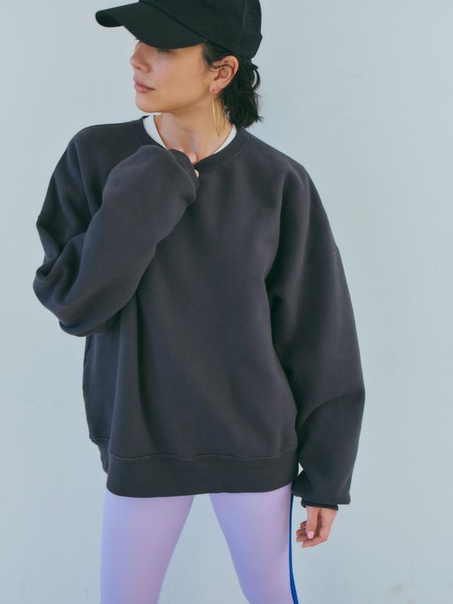 CHULA VISTA GRUNGE SWEAT SHIRT TNH21200-10