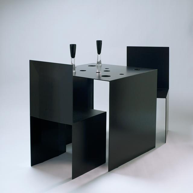 ターブル・プリエ (黒)- Table Pliée (Black)