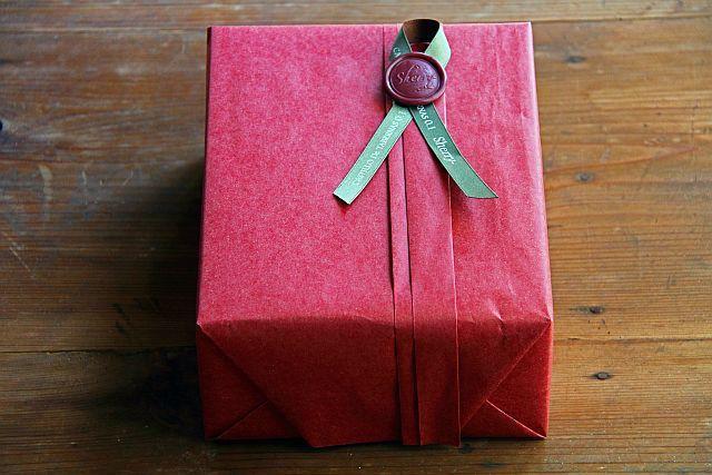 有料ラッピング&BOX(2本用 クリアケース)250ml用 R04