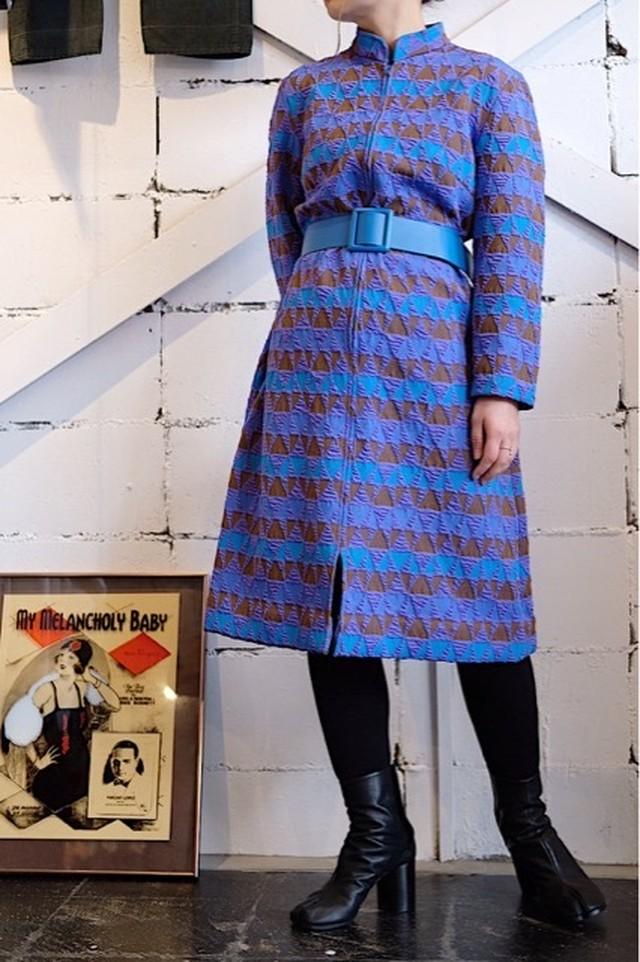 Vintage geometric dress