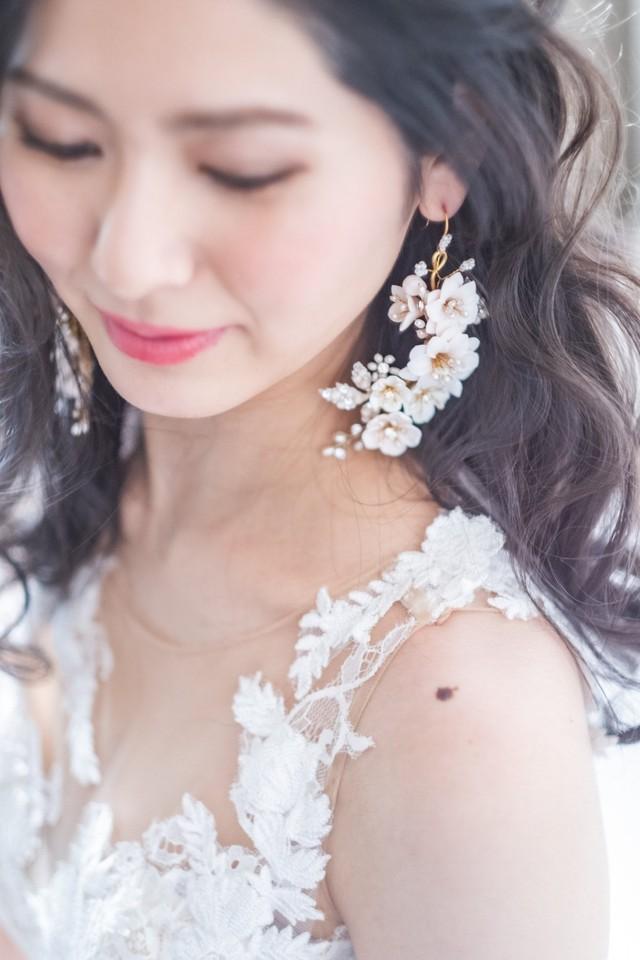 Dewdrop blossom earrings / Twigs & Honey