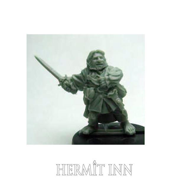 ハーフリングの剣士 - メイン画像