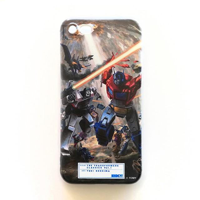 【予約注文商品】【特製ステッカー付】HERO-X PIT「トランスフォーマー  クラシックス VOL.1」ソフトiPhoneケース