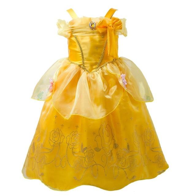 プリンセスなりきり 子供 ドレス キッズ 子ども お姫様 ワンピース お姫様ドレス 女の子 なりきり キッズドレス シンデレラ/ラプンツェル/ベル/オーロラ姫