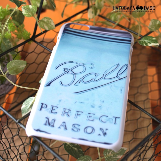 iPhone6Plus / iPhone6s Plusケース [I6PMSJ01] Mason Jars
