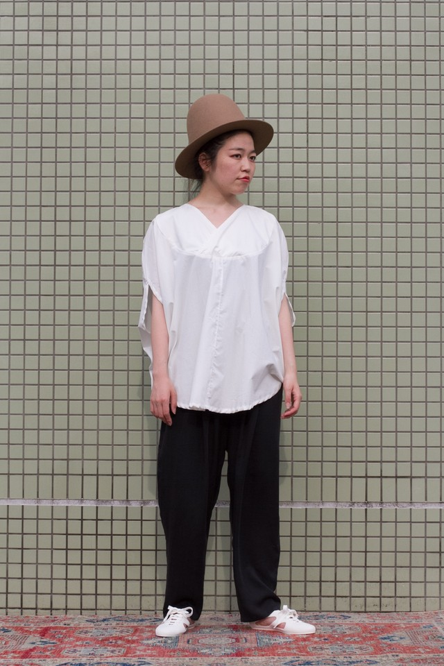 【Otsu】howlite pebble top (f.white)