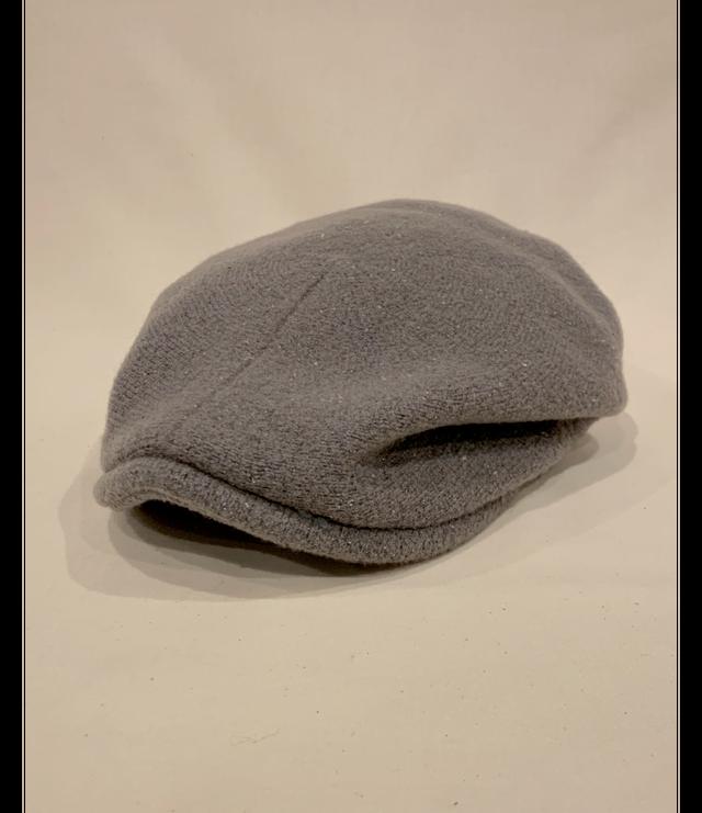 Knit Flat Cap / Greige