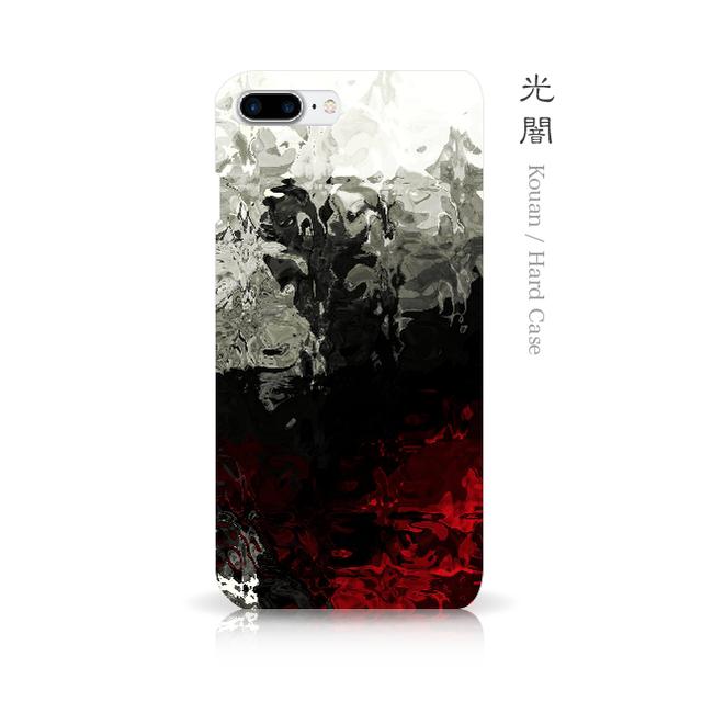 光闇 - 和風 iPhoneケース
