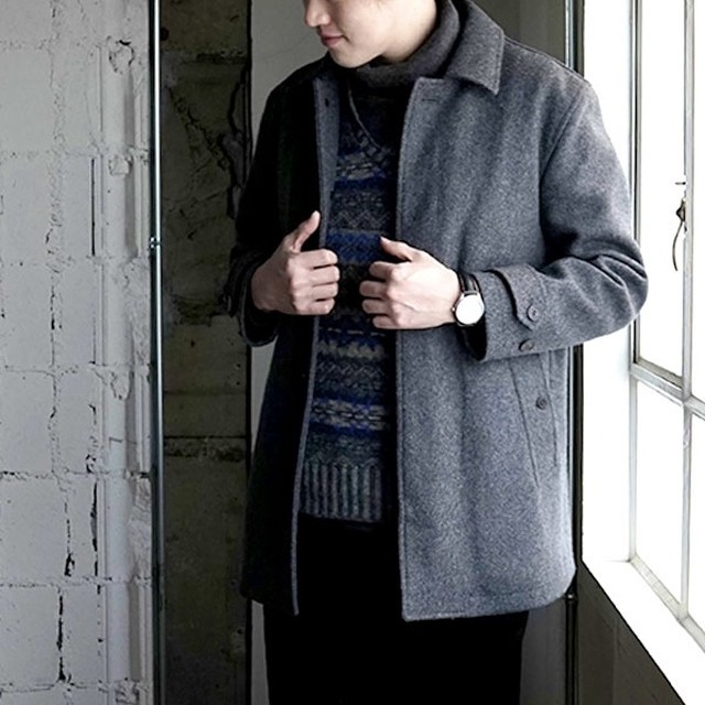 LONDON TRADITION quilted coat - mid gray -