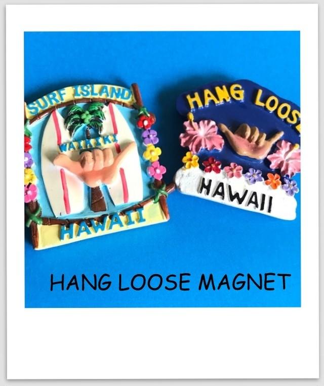 ハワイ マグネット(HANG LOOSE)