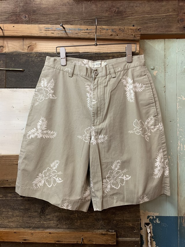90's j.crew cotton short pants
