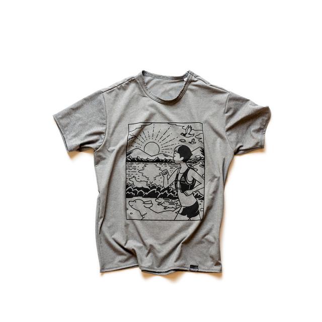 SALLYS オリジナルTシャツ「RUN TOGETHER」Men's