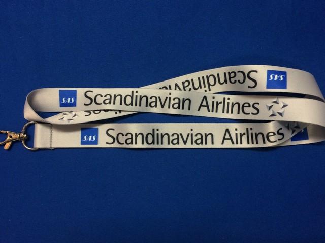 スカンジナビア航空 ネックストラップ