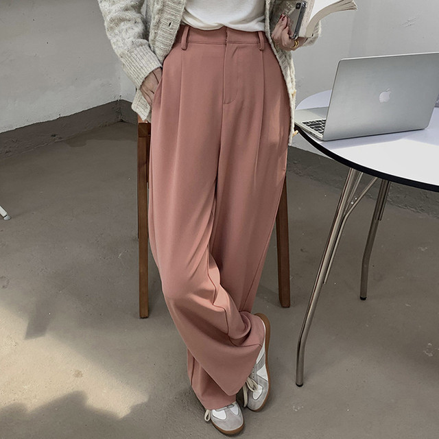 【EXCL.LINE】綺麗めゆったりスラックスパンツ