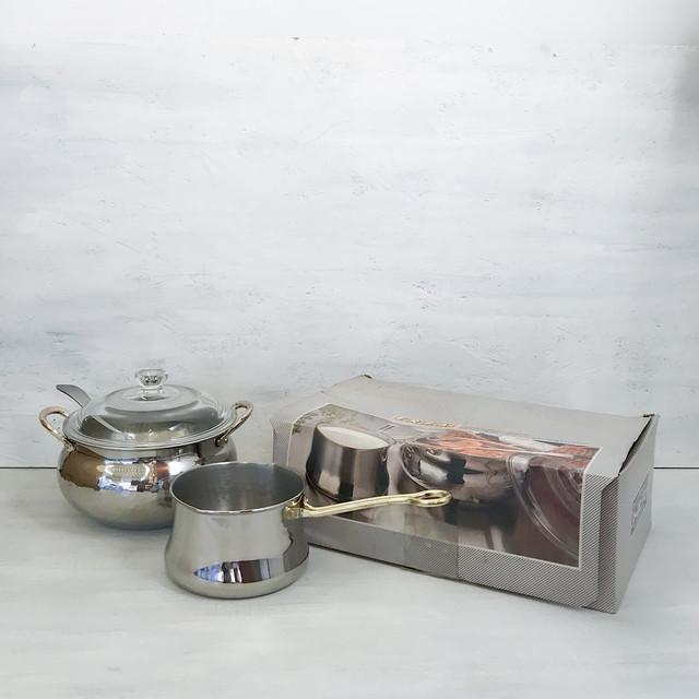 【R-587】ヨーロピアン ミルクパン&カレーポットセット