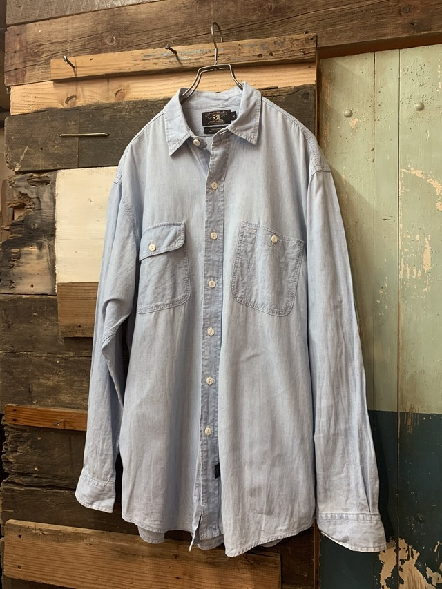 90's RRL Chambray Work Shrits