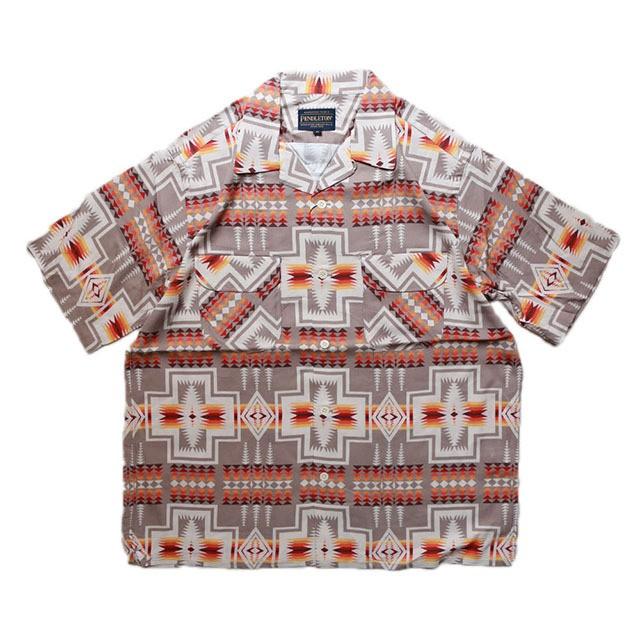 PENDLETON S/S Open Collar Shirts #01 Harding [MN-0275-0002]