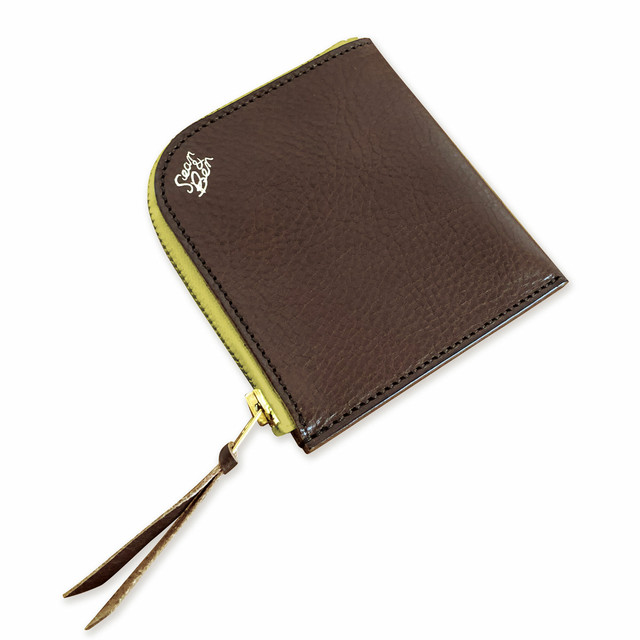 Sean&Ben L Zip Wallet - Lemon Steak