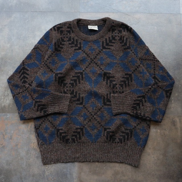 pattern all over design sweater