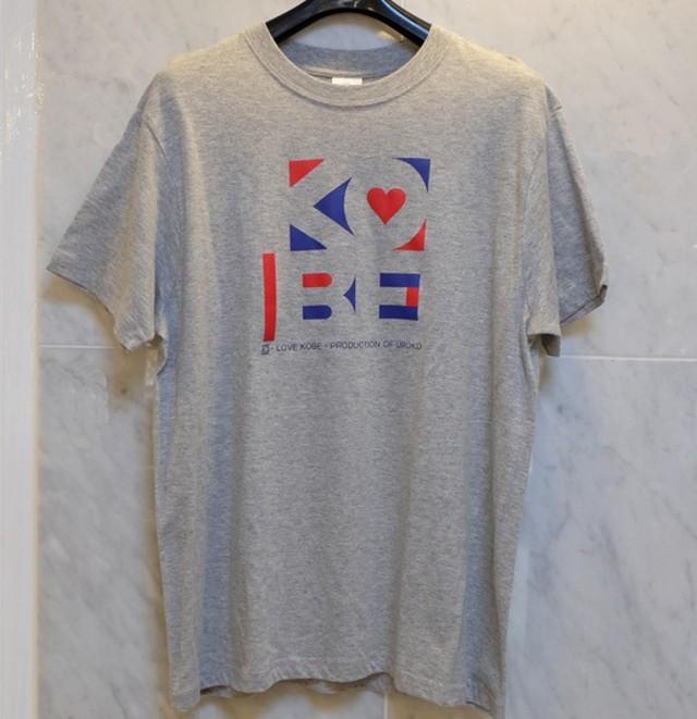 Tシャツ KOBE グレー