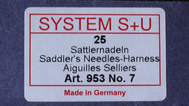 SYSTEM S+U(手縫針)
