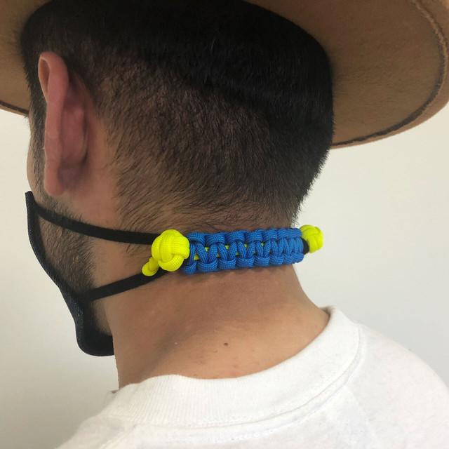 【つらい耳の痛みから解放!】パラコード製マスクバンド <S、Mサイズ>