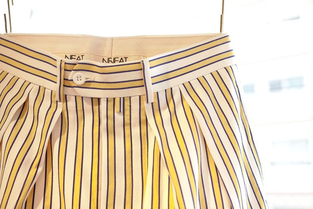 NEAT <TAPERED> COTTON LAL STRIPE