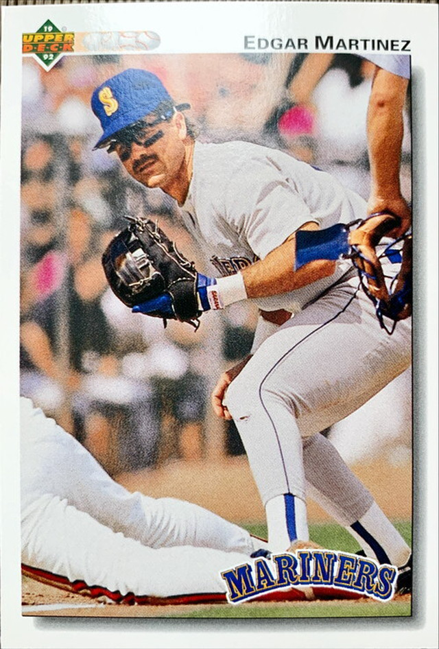 MLBカード 92UPPERDECK Edgar Martinez #367 MARINERS