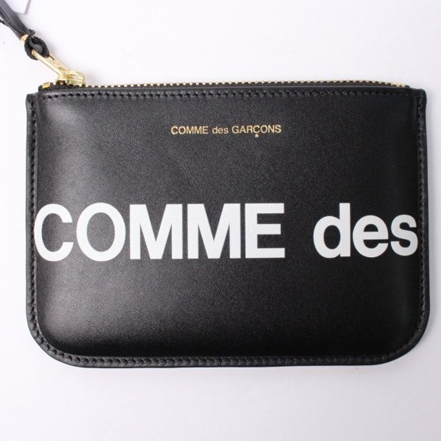 COMME des GARCONS コムデギャルソン コインケース ロゴ[全国送料無料] r015852