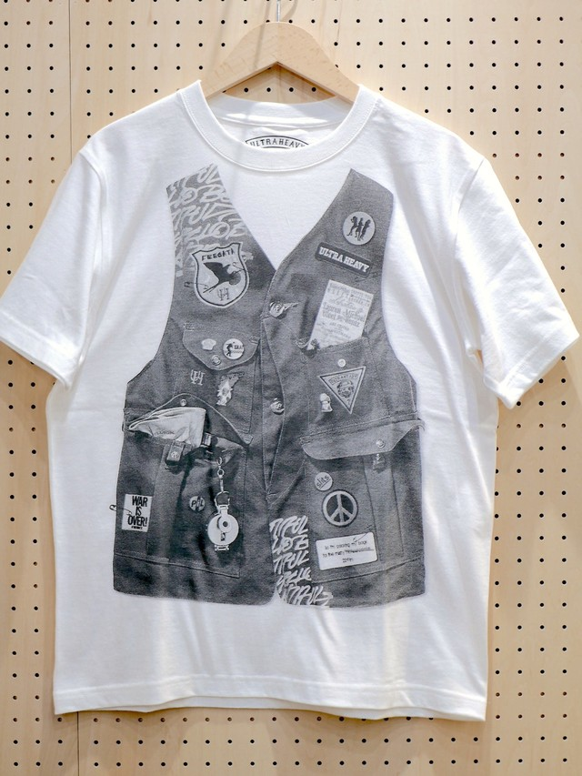 【SALE 40% OFF】U.H. / HEAVY-WEIGHT TEE(RIDERS)