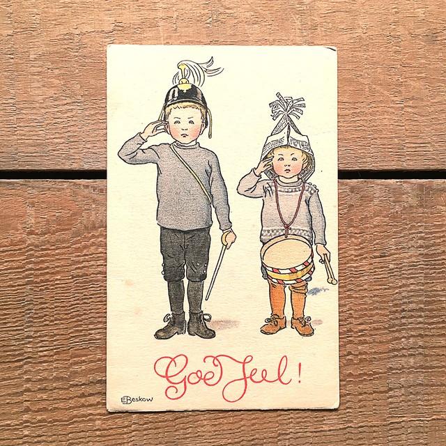 クリスマスカード「Elsa Beskow(エルサ・ベスコフ)」《210227-02》