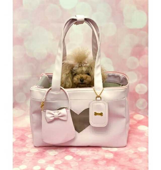 【4月入荷予定】FOR PETS ONLY LOVELY BAG ラブリーバッグ PINK CREAM(PE2021-B5・B4)