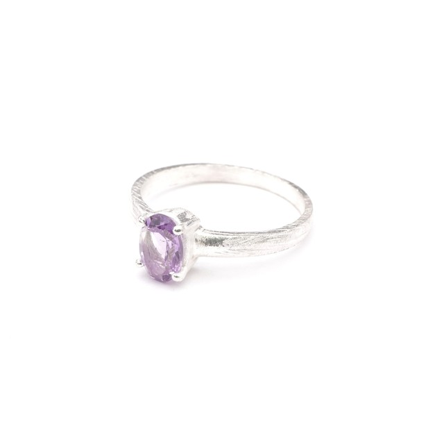 SINGLE PETIT STONE NON-ADJUSTABLE RING 021