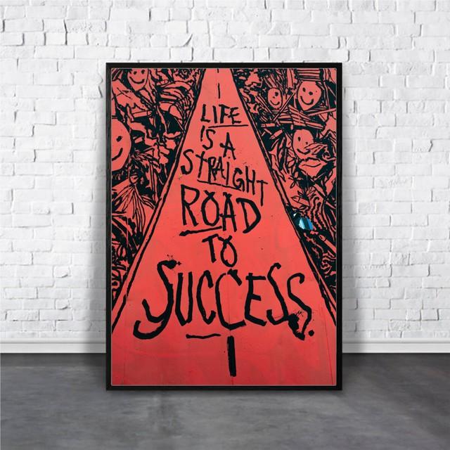 Life is success / 【アートポスター専門店 Aroma of Paris】[AP-000312]