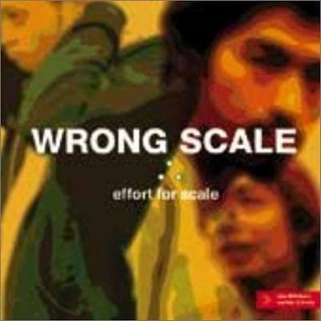 【USED】WRONG SCALE / effort for scale