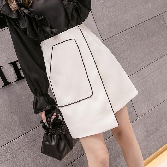 【bottoms】根強い人気キュートな印象簡約スタイルスカート