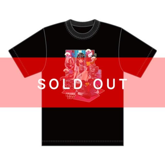 【完売しました】十味2021年生誕描き下ろしイラストTシャツ【NIG012】