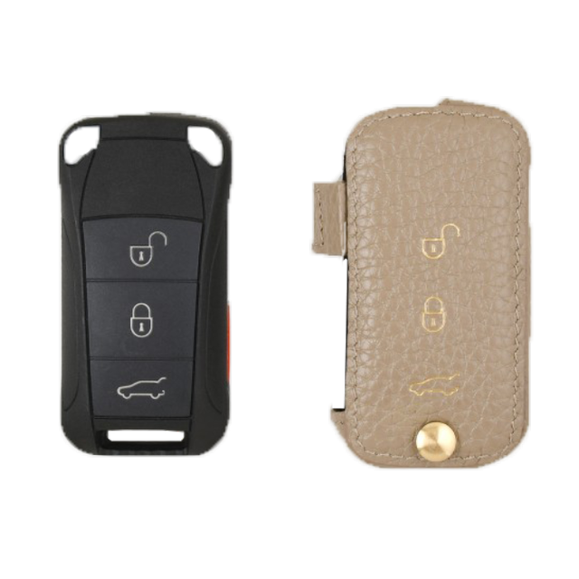 Porsche 専用 TypeC Car Key Case Shrink Leather Case