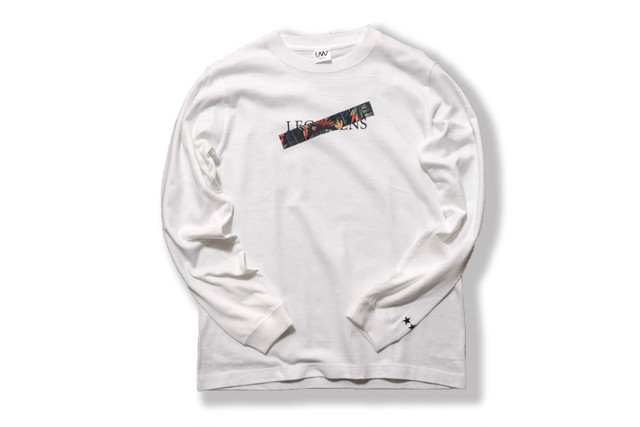 animal logo long sleeve / zebra