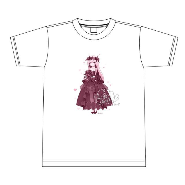 【4589839357036限】となりの吸血鬼さん【描き下ろし】ソフィー Tシャツ(銀箔サイン入り) M