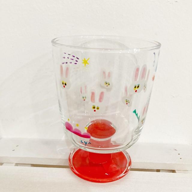 【CYILABO】ジュースグラス(うさぎ)