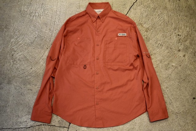 USED Columbia PFG fishing shirt S S0222