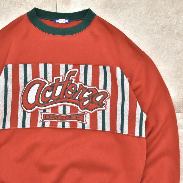 Switch retro design bi-color sweatshirt