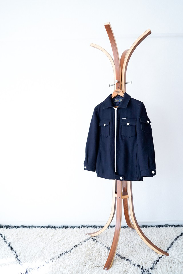 "【1990-2000s】""Gloverall"" Wool CPO JKT / v435"