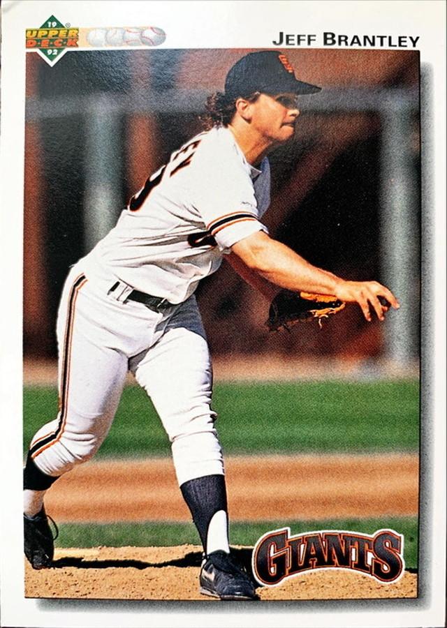 MLBカード 92UPPERDECK Jeff Brantley #581 GIANTS