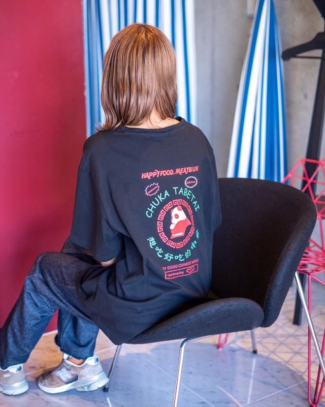 PANDA T-shirt【black】